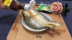 雪菜蒸黄花鱼的做法图解4