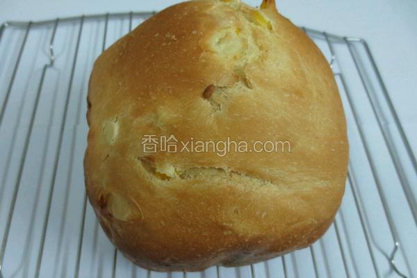 懒人版玉米面包