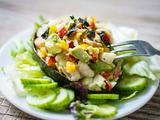 鲜虾牛油果沙拉的做法[图]