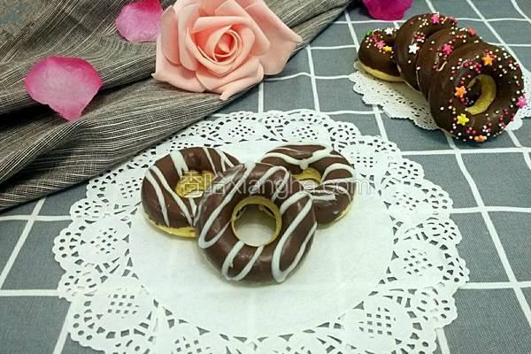 巧克力甜甜圈(蛋糕版)