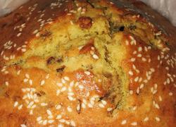 核桃红枣磅蛋糕