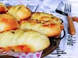 香葱芝士面包条的做法[图]