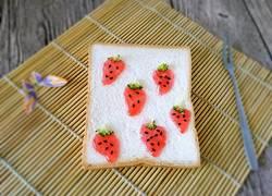 草莓果酱土司片