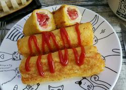 番茄土司卷