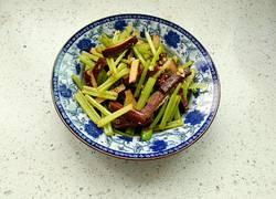 凉拌香芹豆腐干