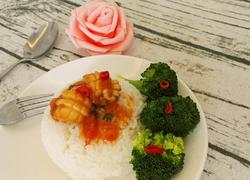 茄汁鲍鱼捞饭