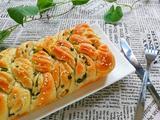 香葱辫子面包的做法[图]