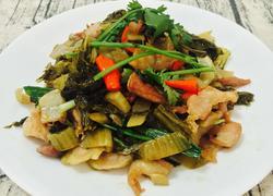 潮州酸菜炒五花肉