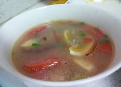 西红柿皮蛋汤