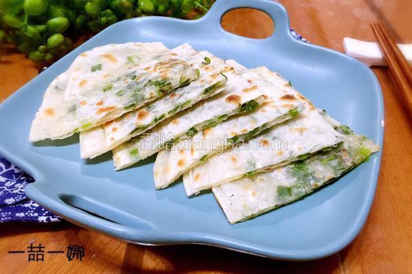 饺皮葱油饼