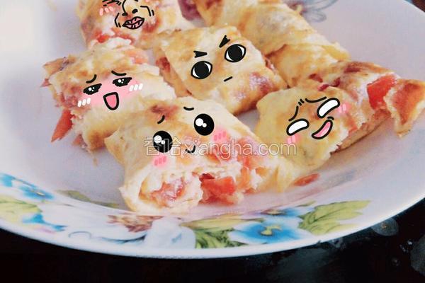 早餐鸡蛋卷