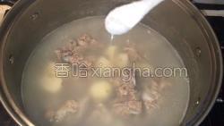 百合荸荠排骨汤的做法图解9