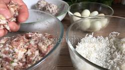 珍珠鹌鹑蛋肉丸的做法图解9