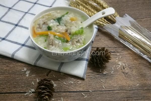 香菇瑶柱排骨粥