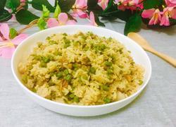 豆角肉丁米饭