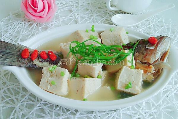 鲈鱼豆腐汤