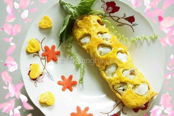 爱心蛋包饭
