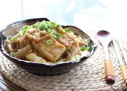 芙蓉豆腐饭