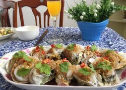 蒜蓉粉丝海蛎子