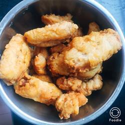 脆皮炸鸡(勤劳版)
