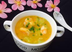 咸蛋黄辫虾汤