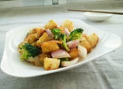 咖喱馒头丁