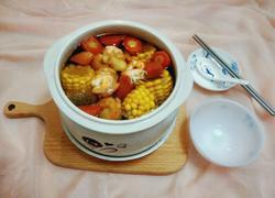 虾仁玉米滋养汤