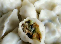南瓜虾仁水饺