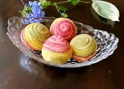 彩色芋头酥