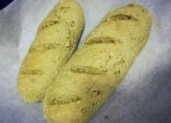 抹茶燕麦面包