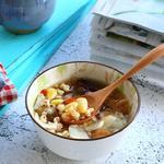 桃胶薏仁白果汤