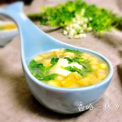 猪油渣豆腐汤