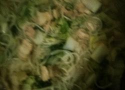 白菜粉条炖五花肉