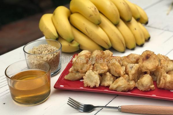 炸香蕉/ Tempura Bananas