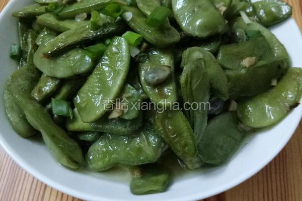 蒜蓉炒扁豆