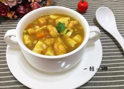 咖喱虾仁豆腐