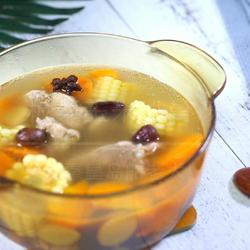 板栗玉米排骨汤