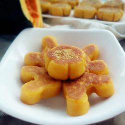 奶香豆沙南瓜饼的做法[图]