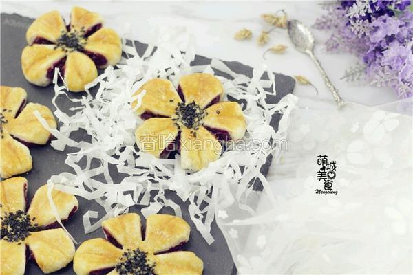 紫薯蝴蝶酥:一款好吃不贵的保健佳品