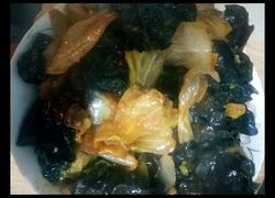 白菜木耳炒肉