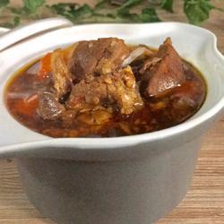 砂锅炖羊肉