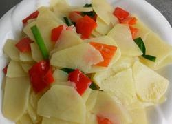 清炒土豆片
