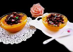 南瓜红豆冰