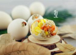 好吃好玩的营养早餐の糯米奇趣蛋