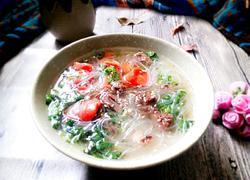 羊肉胡萝卜粉丝汤