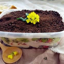 玉米面盒子蛋糕