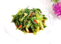 凉拌油麦菜