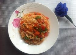 西红柿烩金针菇