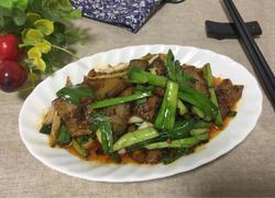 回锅肉炒青蒜