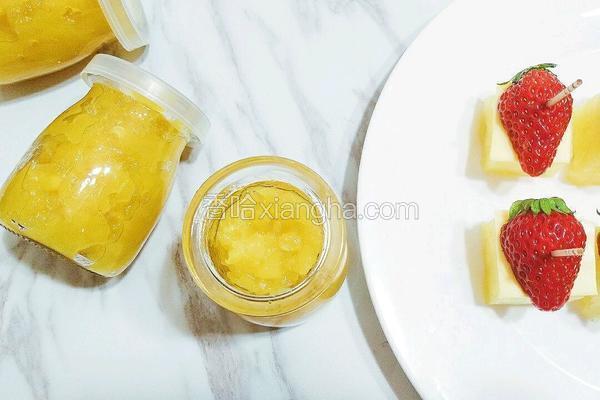 自制菠萝酱